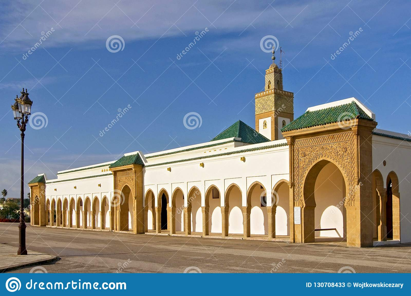 Dar al Makhzen is the primary and official residence of the king of Morocco.