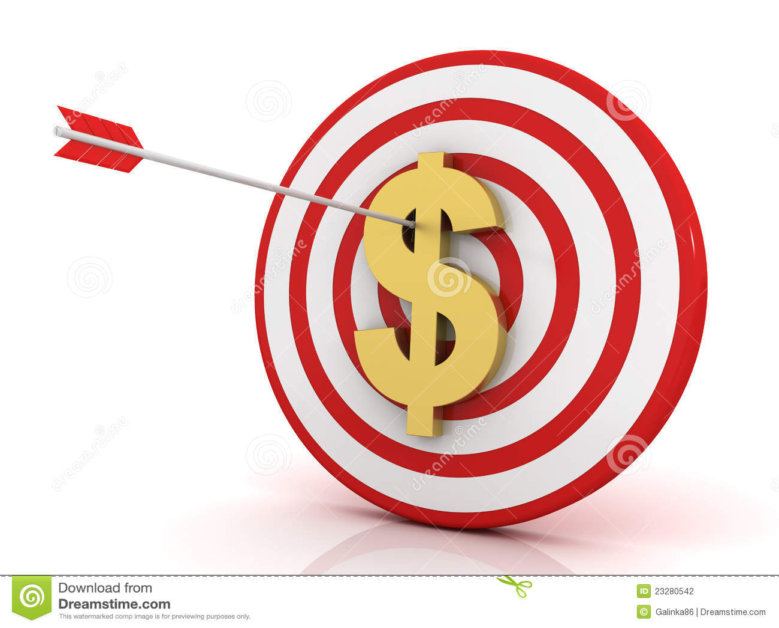 Dard de réussite avec le dollar