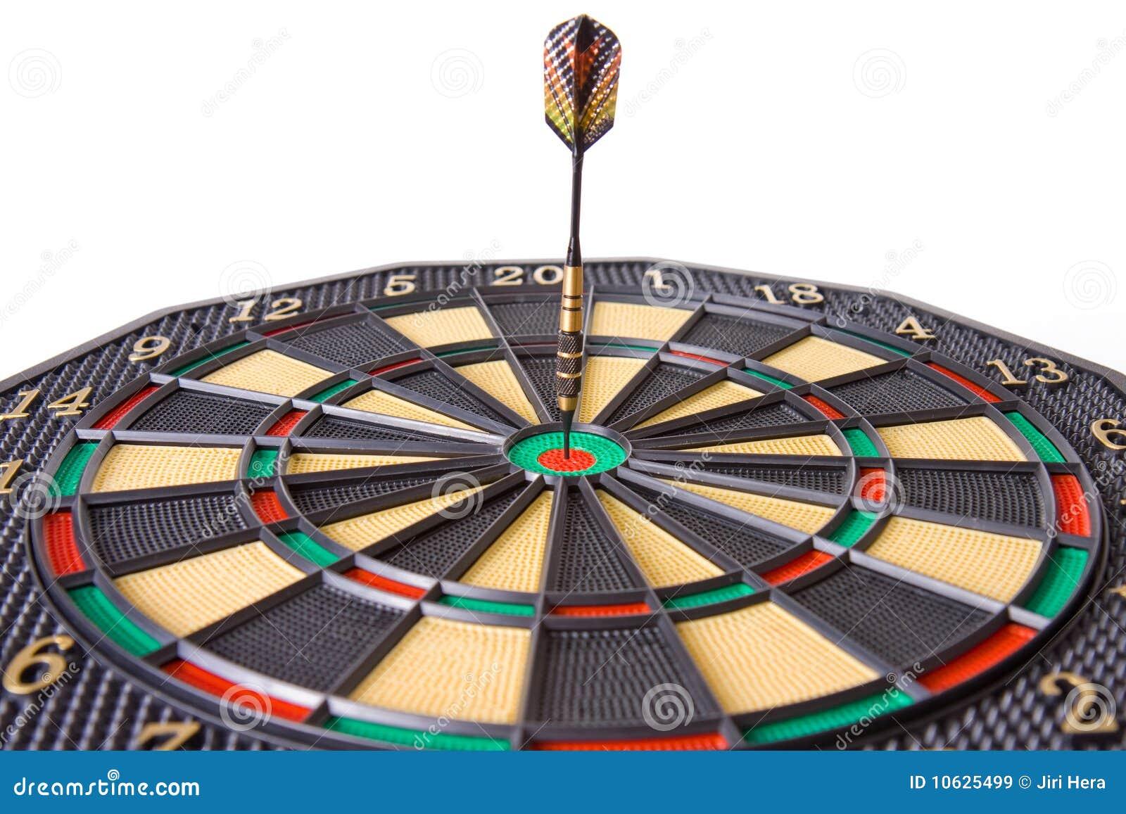 Dardo in dartboard