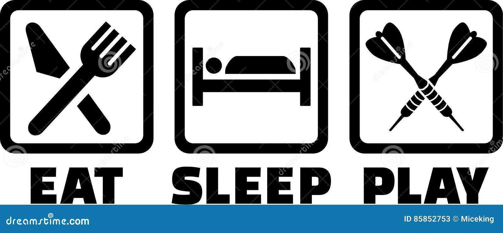Dardos Eat Sleep Play