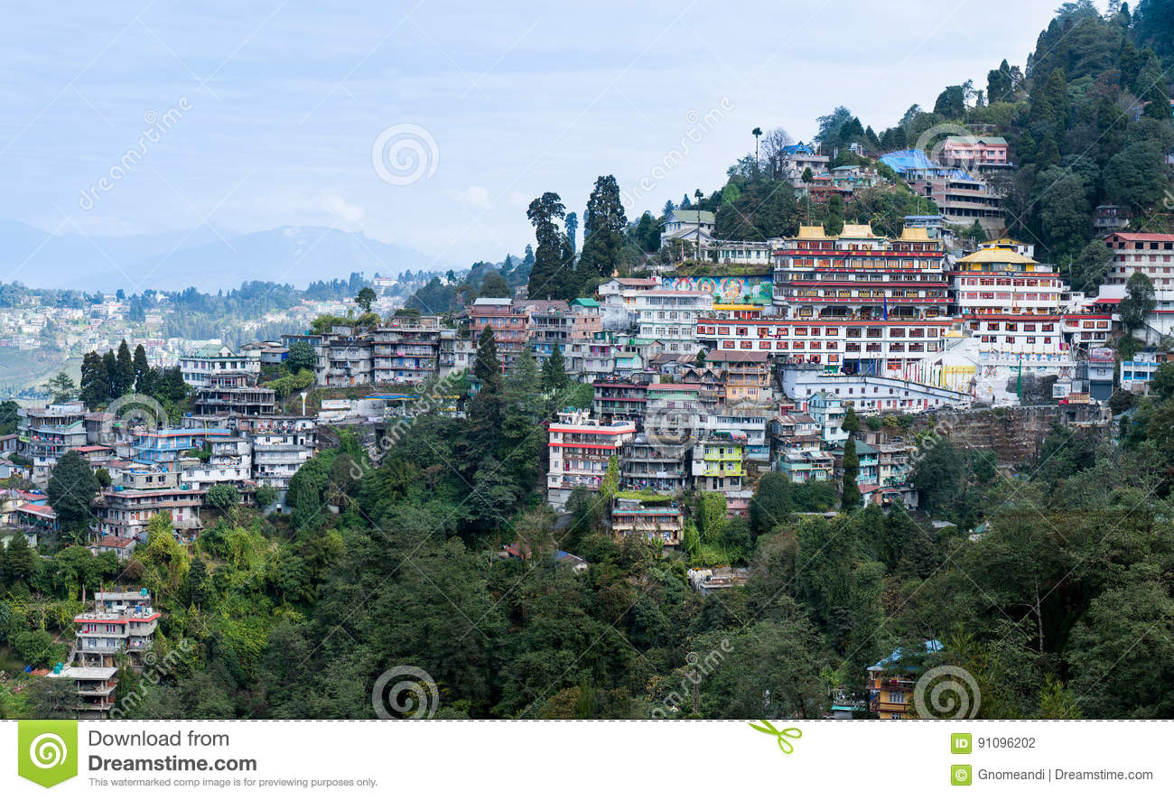 Darjeeling Hill Town Editorial Photography Image Of Hotel 91096202
