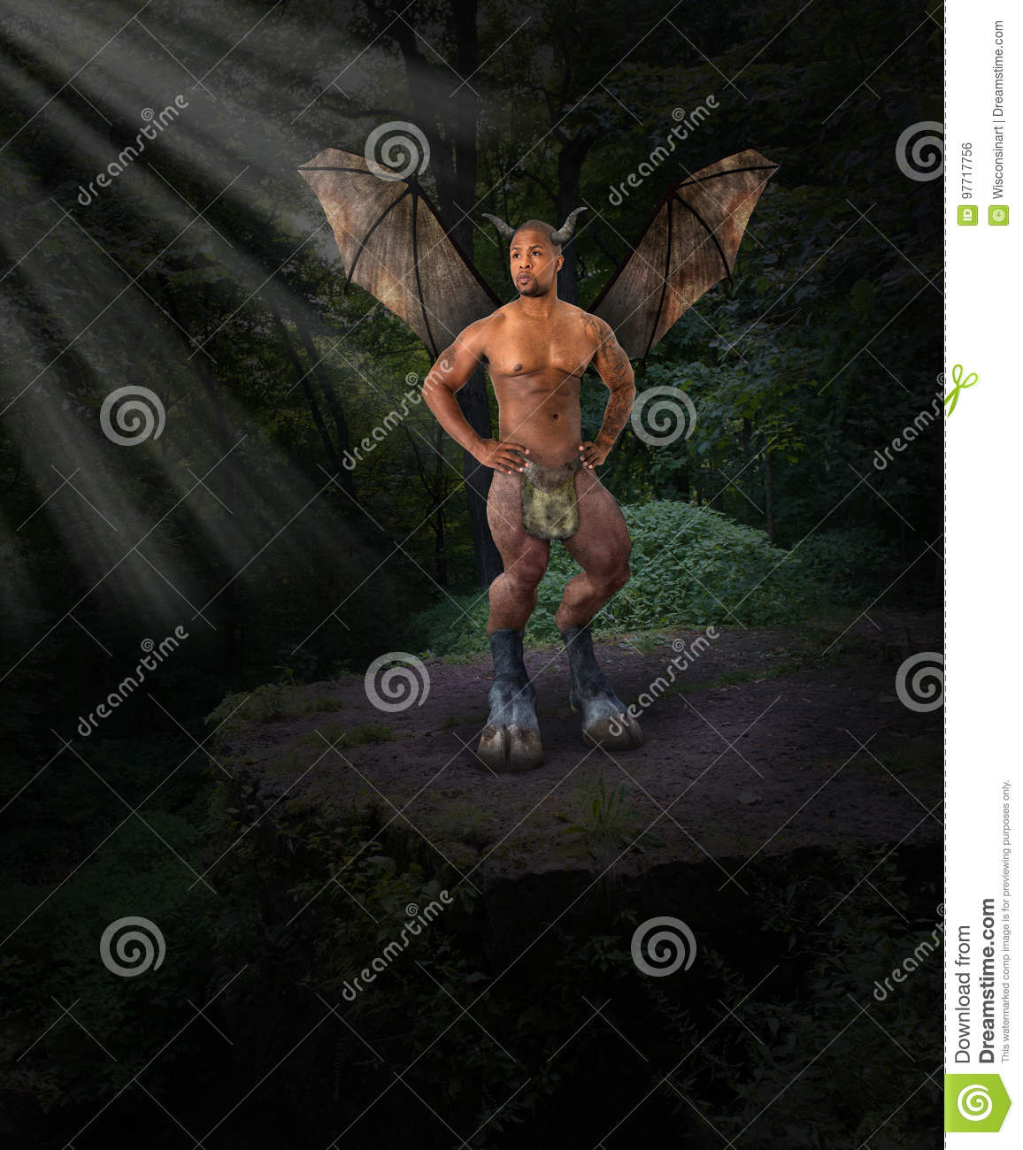 Dark angel devil evil forest stock photo image of wisconsinart royalty free stock photo m4hsunfo