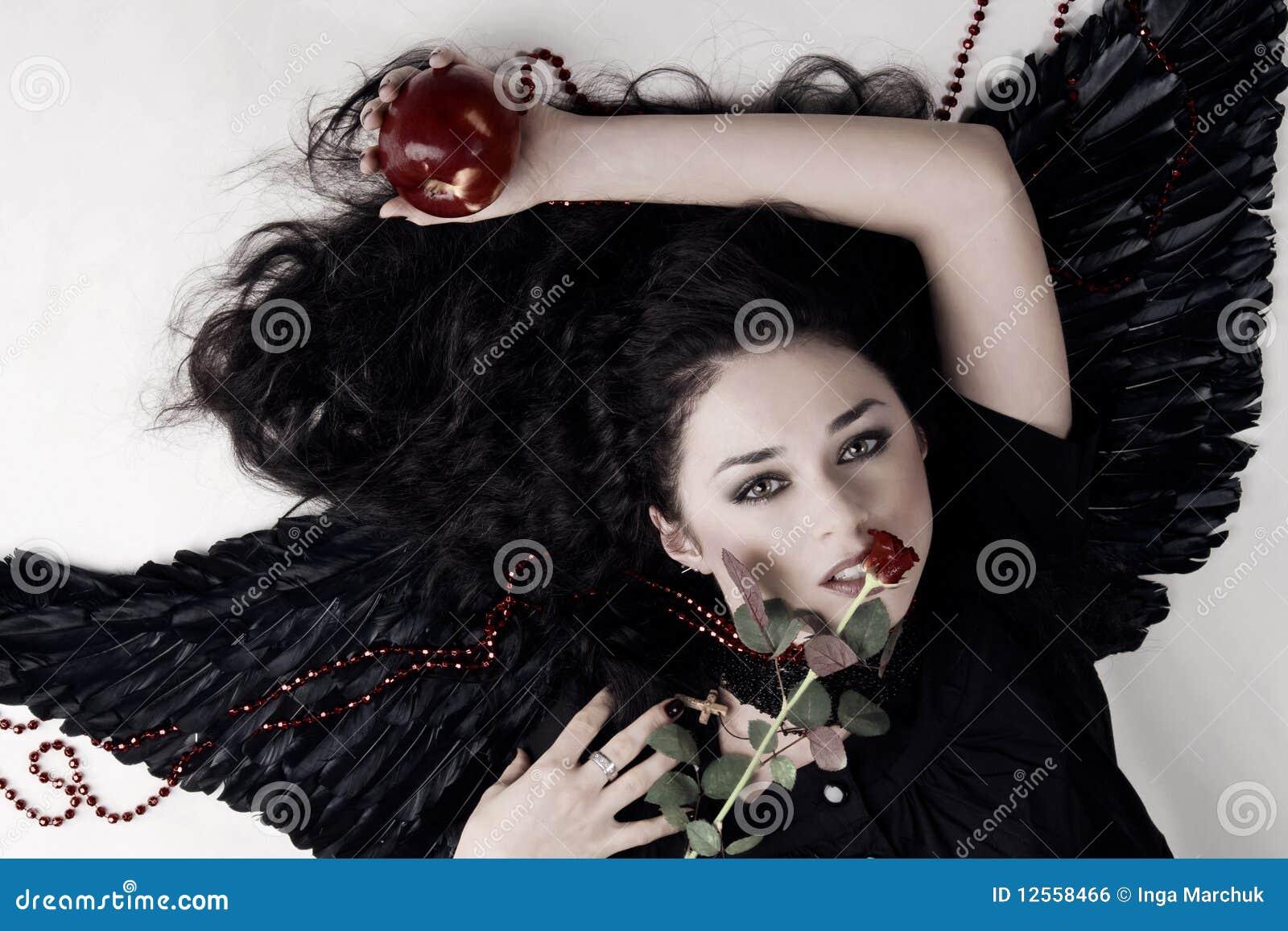 Dark angel girl nude-5869