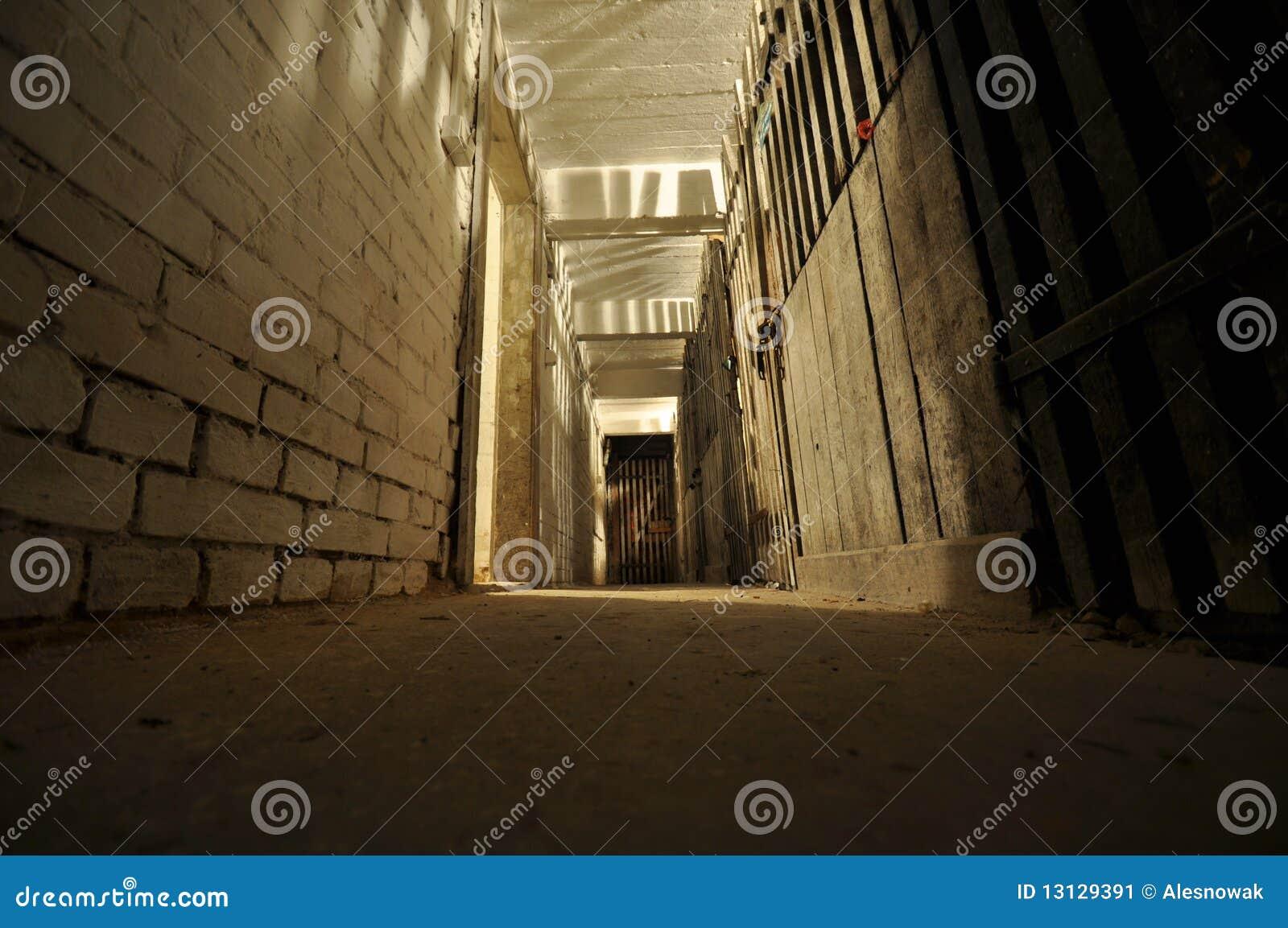 dark basement stock image image 13129391
