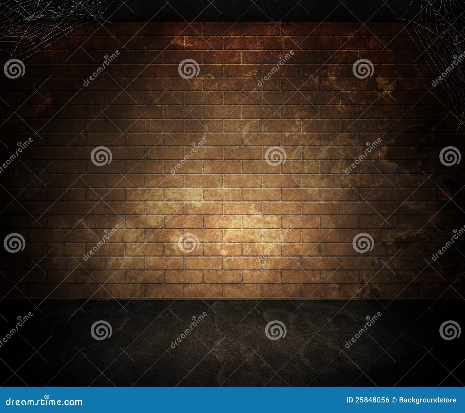 Dark Basement Background Royalty Free Stock Image