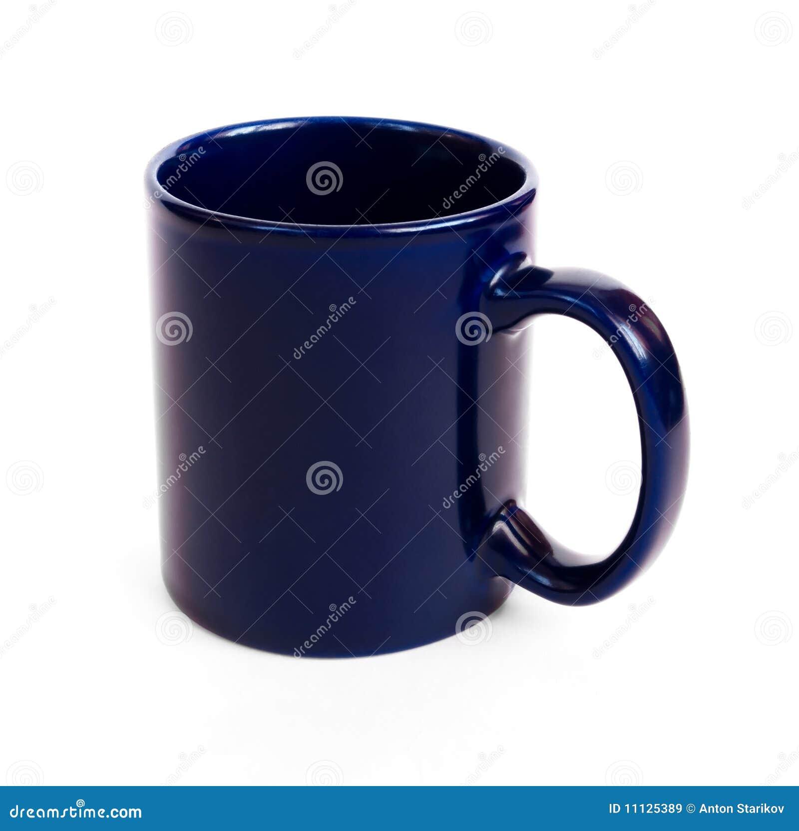 Dark Blue Coffee Mug Royalty Free Stock Images Image