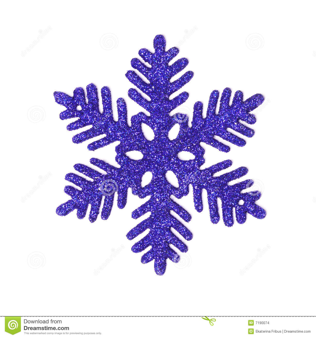 snowflake on glitter stock photography image 34841322