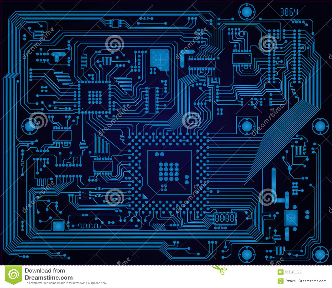 electronic red background wiring - photo #11