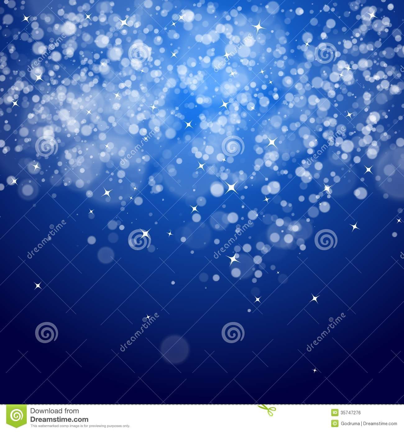 Dark Blue Night Christmas Background Stock Vector - Image ...