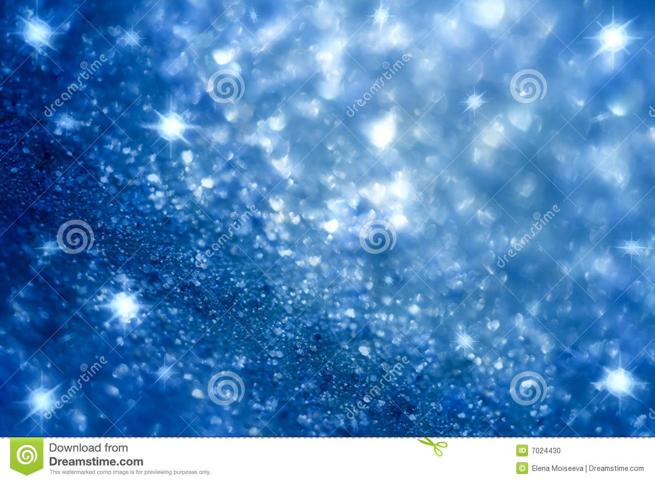 Dark Blue Star And Glitter Sparkles Background Stock Photo ...