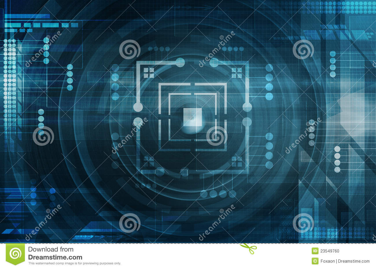 dark blue tech background stock photo image 23549760