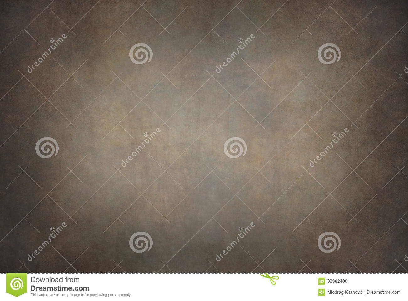 Dark brown canvas hand-painted backdrops