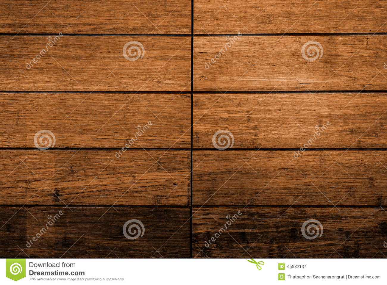 Dark Brown Wood Plank Panel For Wall Stock Photo Image
