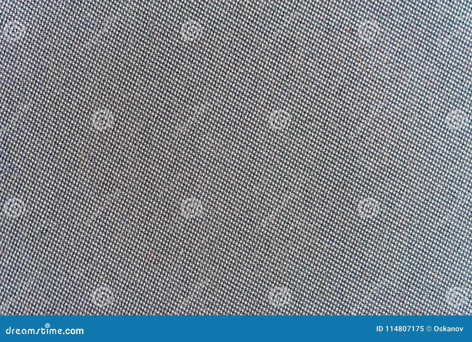 Dark car textile macro texture