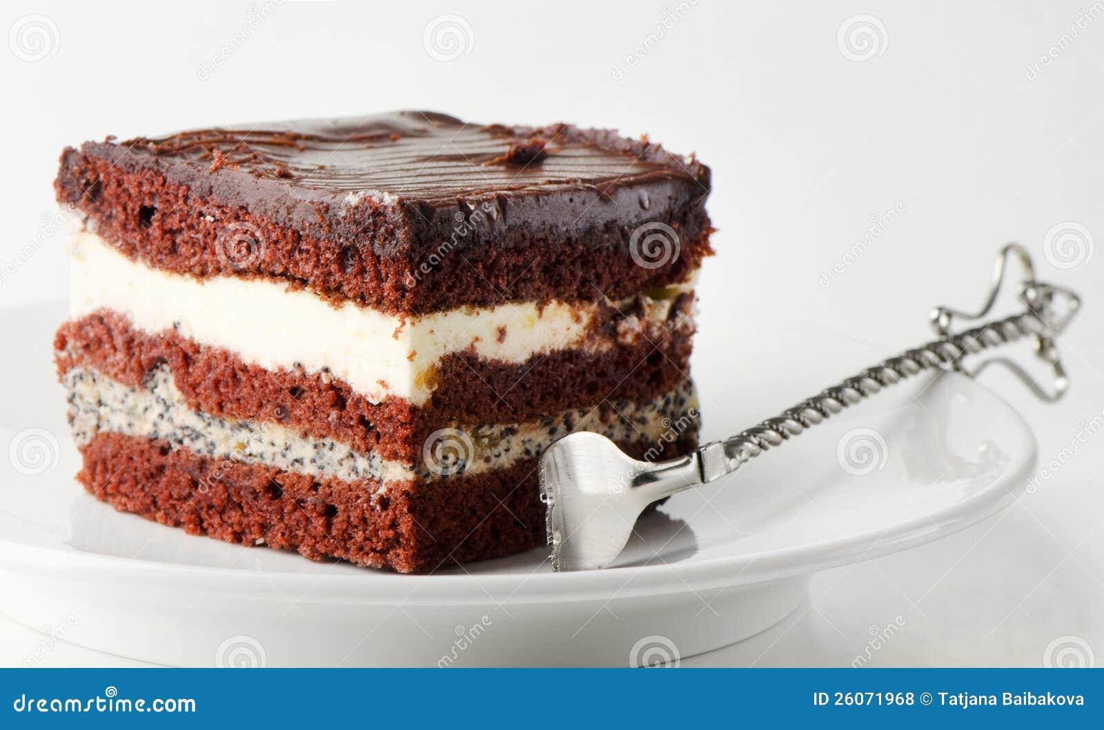Dark Chocolate Cake Royalty Free Stock Photos - Image: 26071968