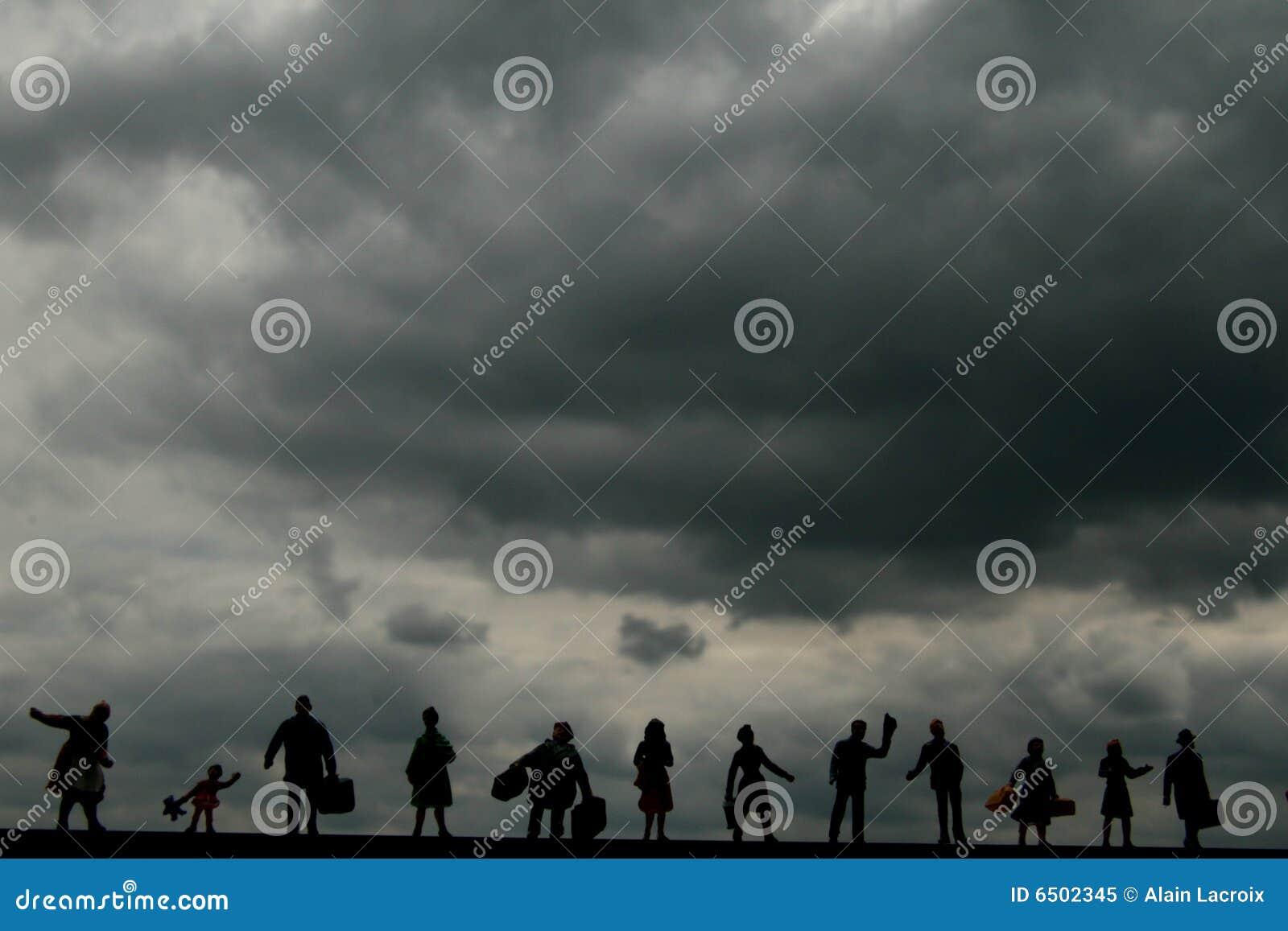 Dark cloud world