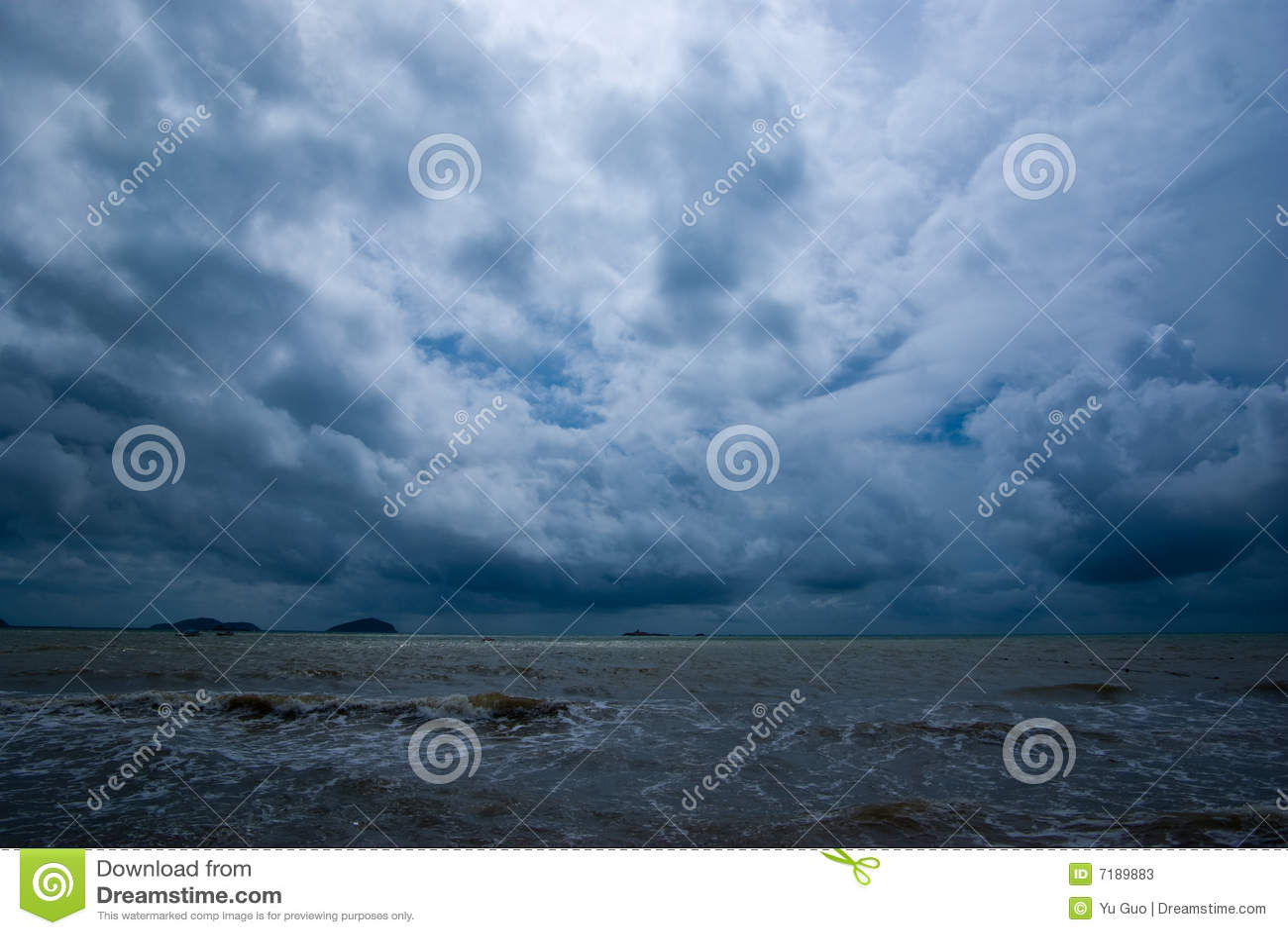 Dark clouds coming
