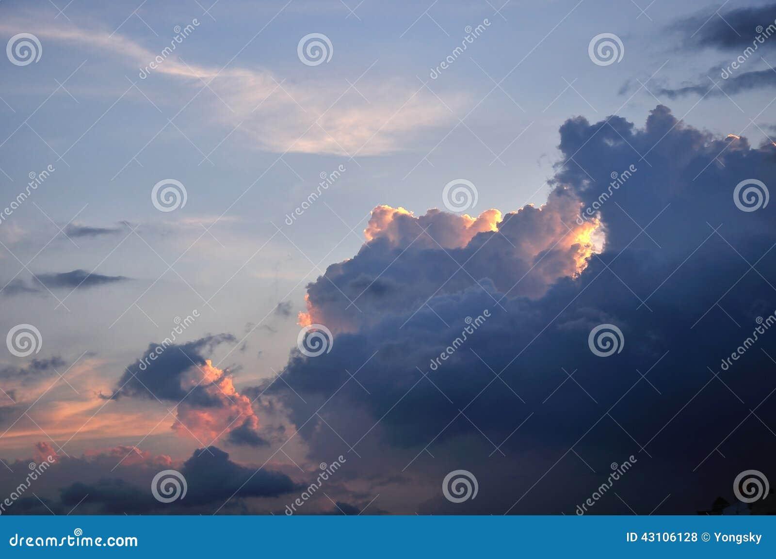 Download Dark clouds stock photo. Image of spiritual, nature, gloomy - 43106128