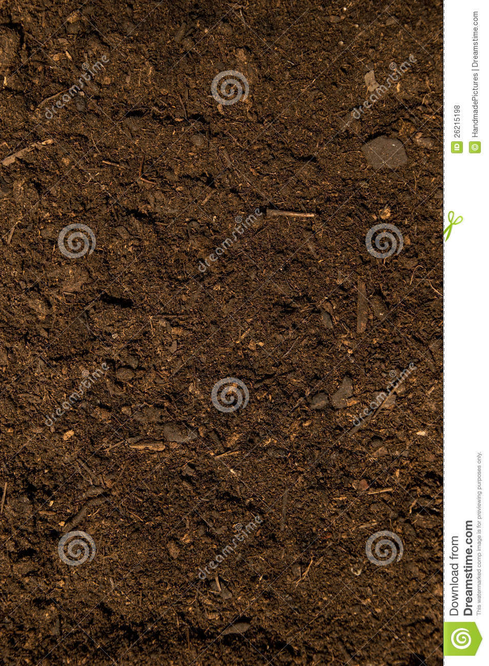 Dark Dirt Texture stock photo Image of brown environment 26215198