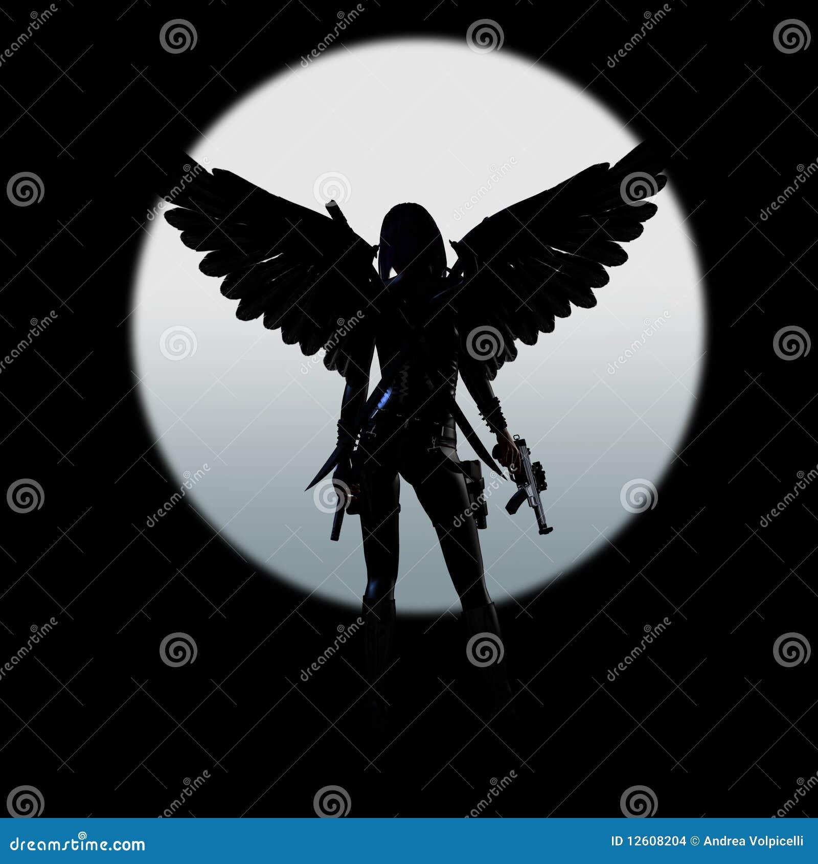 Dark för 04 ängel