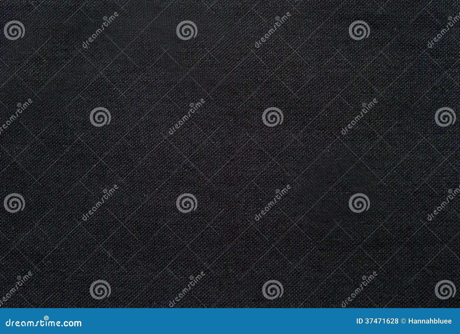 Black Canvas Background : Dark fabric texture detail royalty free stock photos