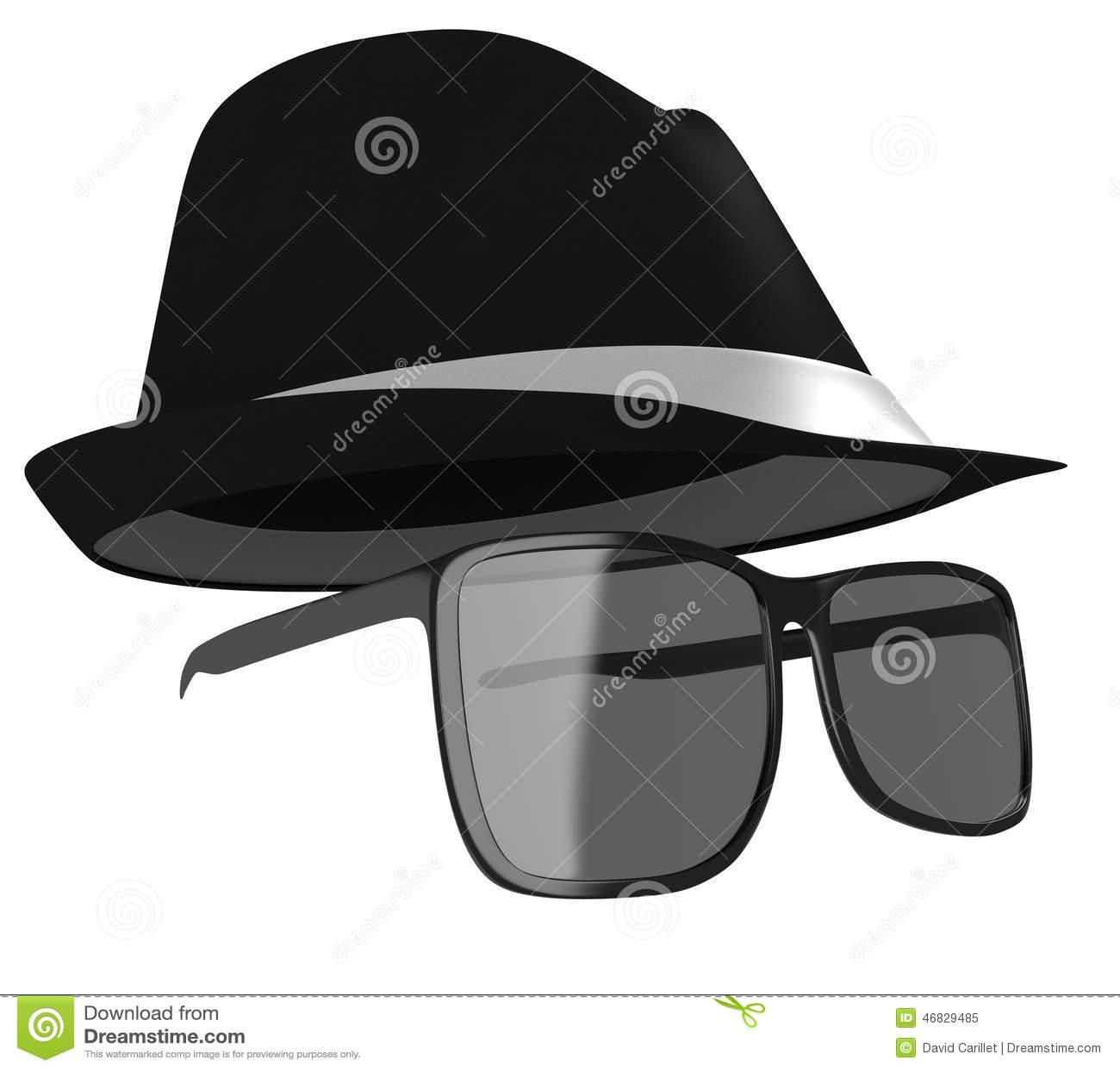 Clip On Dark Glasses