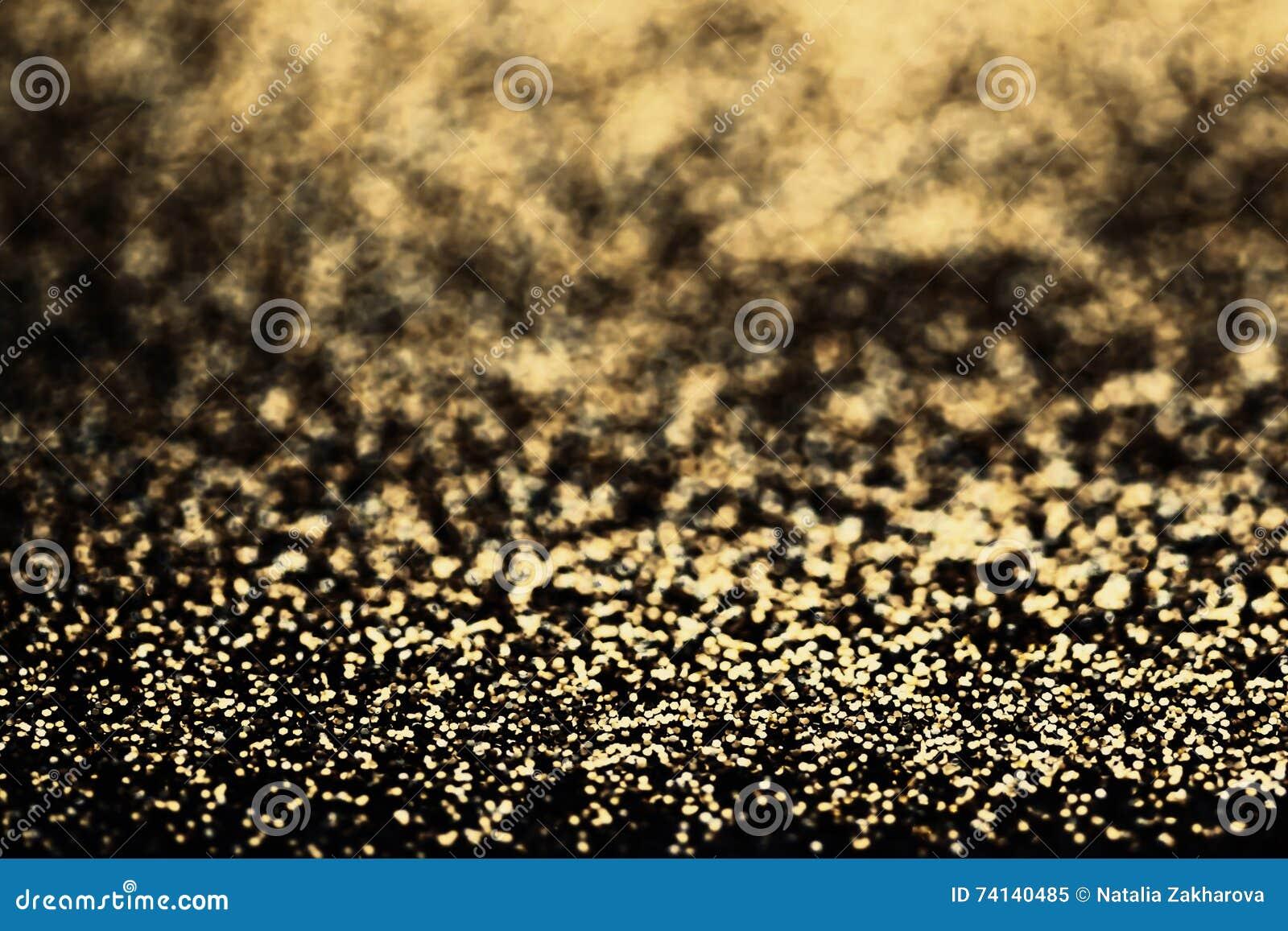 Dark Gold Glitter Wallpaper Bronze Christmas Glittering Backg
