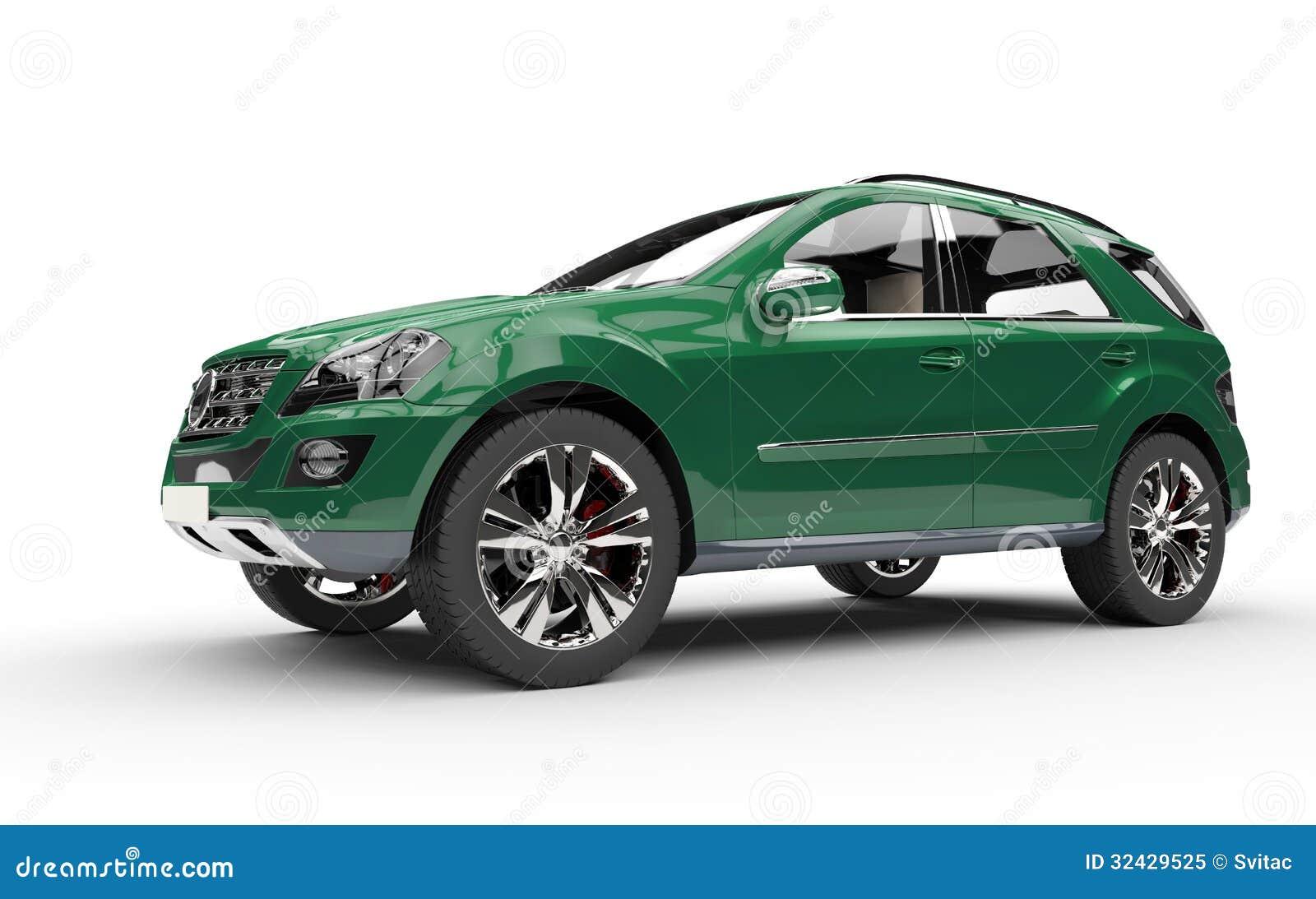 Dark Green Suv Royalty Free Stock Photo Image 32429525