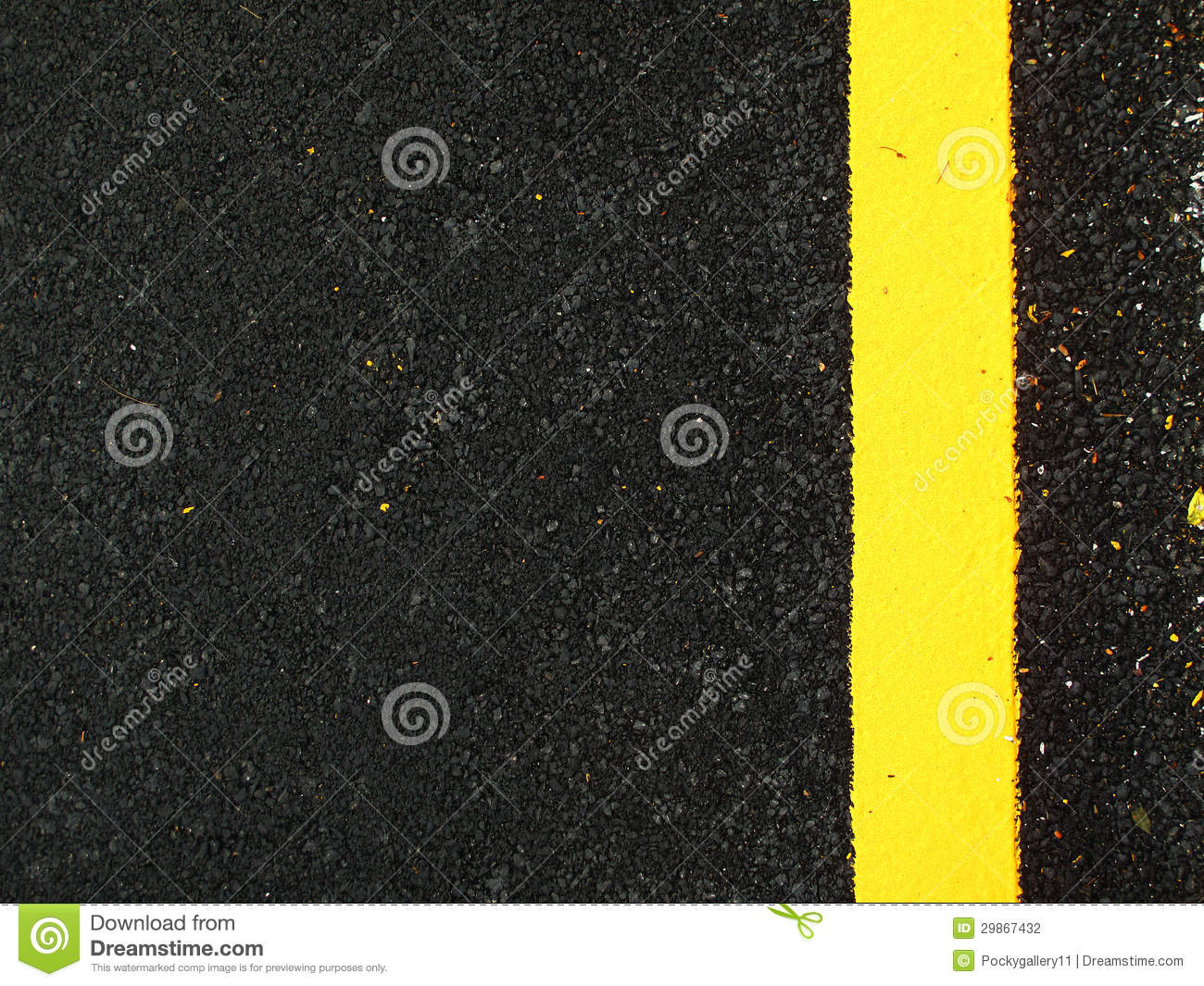 Car Paint Prices >> Dark Grey Asphalt Background With Yellow Line Stock Photo ...