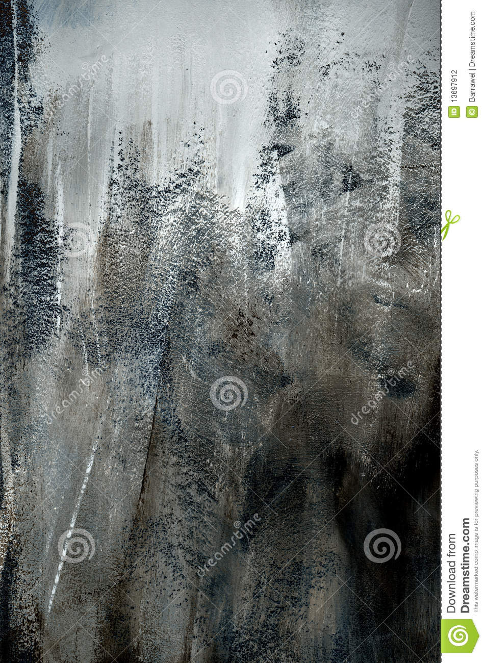 Rough Texture Background: Dark Grey Background Of Rough Paint Texture Stock Photo