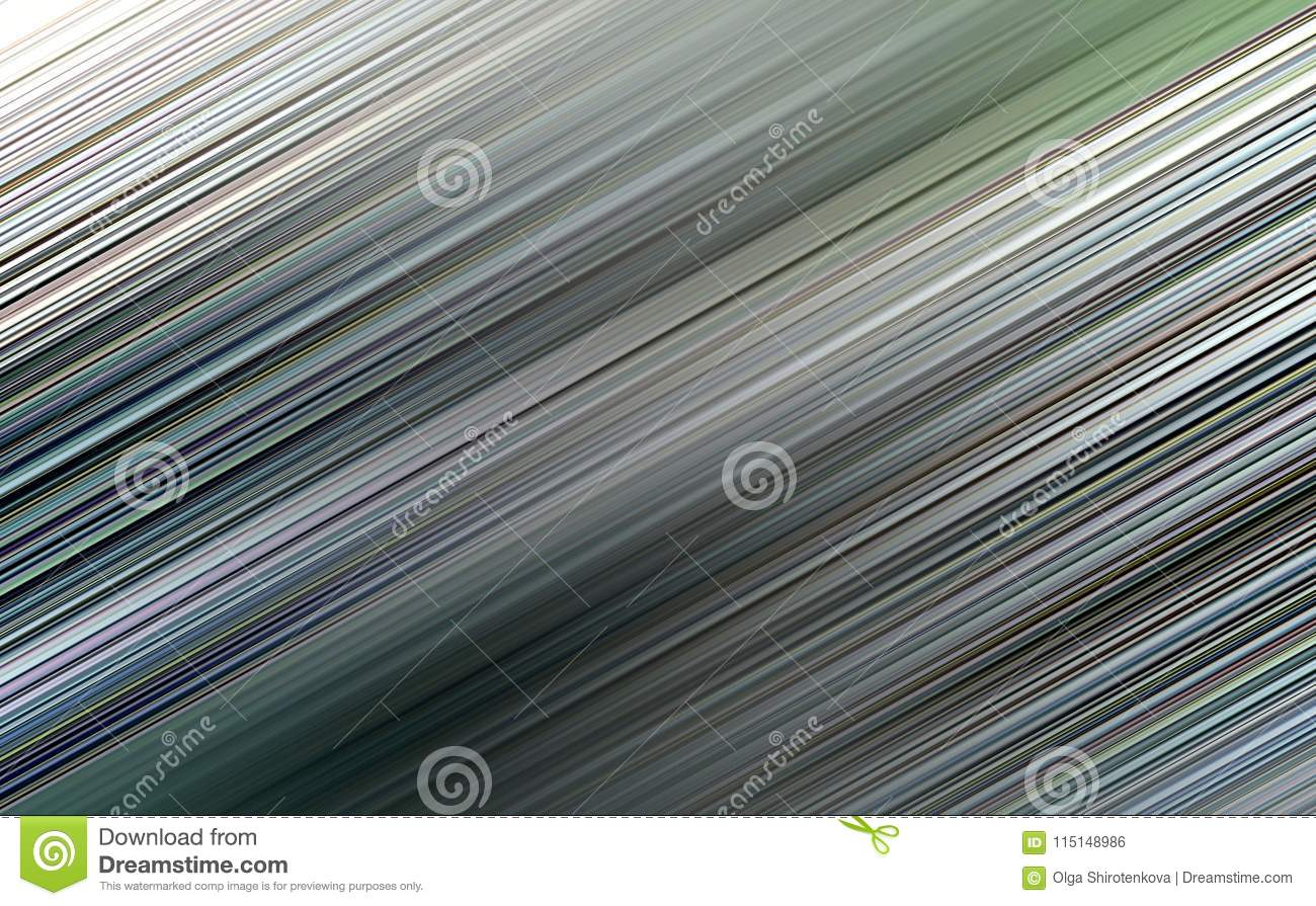 Dark Grey Blurred Striped Wallpaper For Web Site Stock Illustration