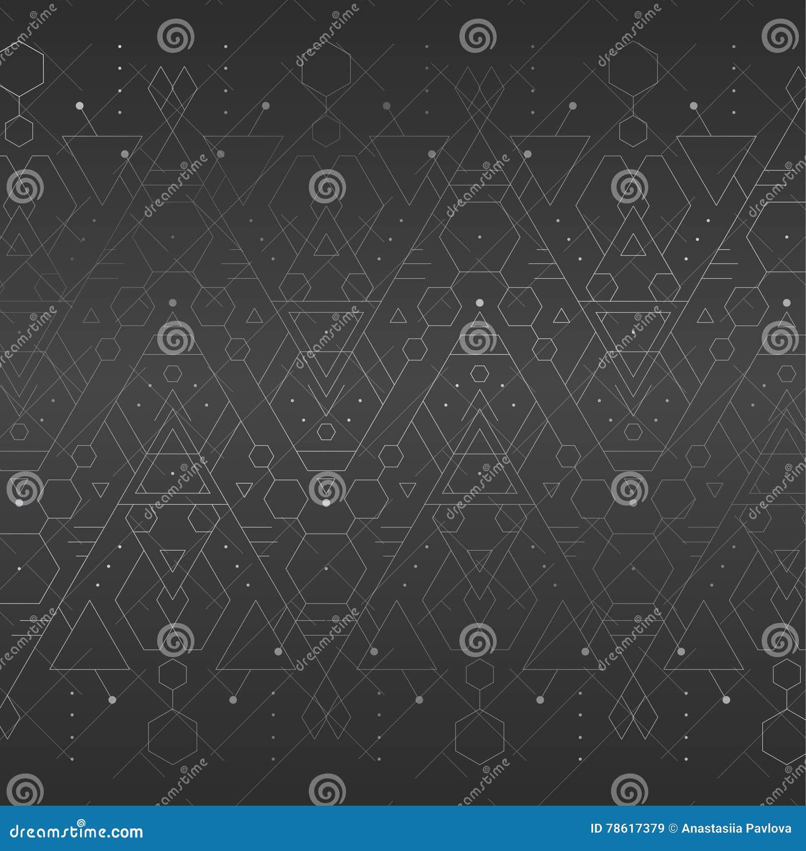 Dark grey geometric background