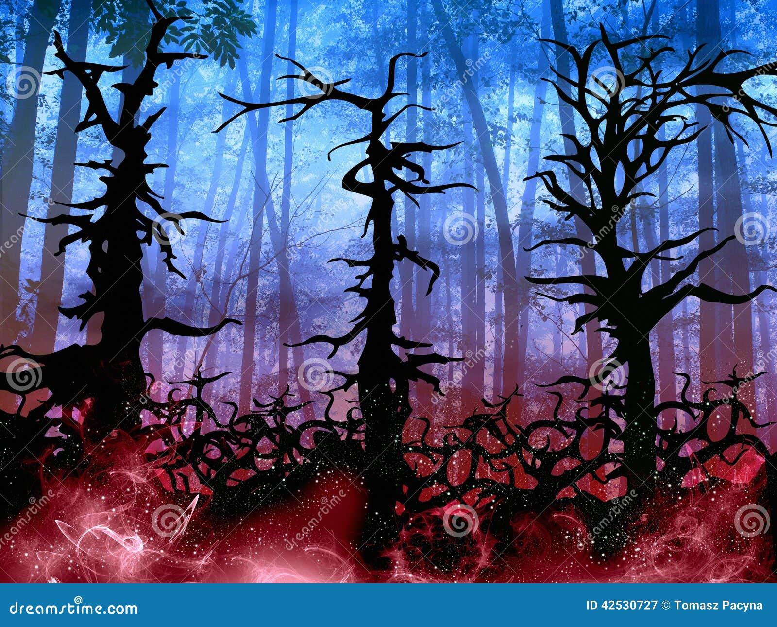 Halloween Light Up Tree