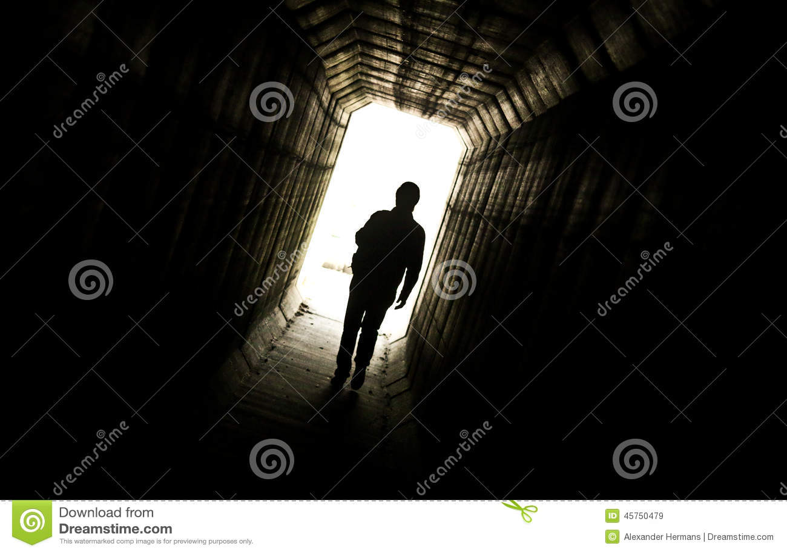Dark Hallway ...
