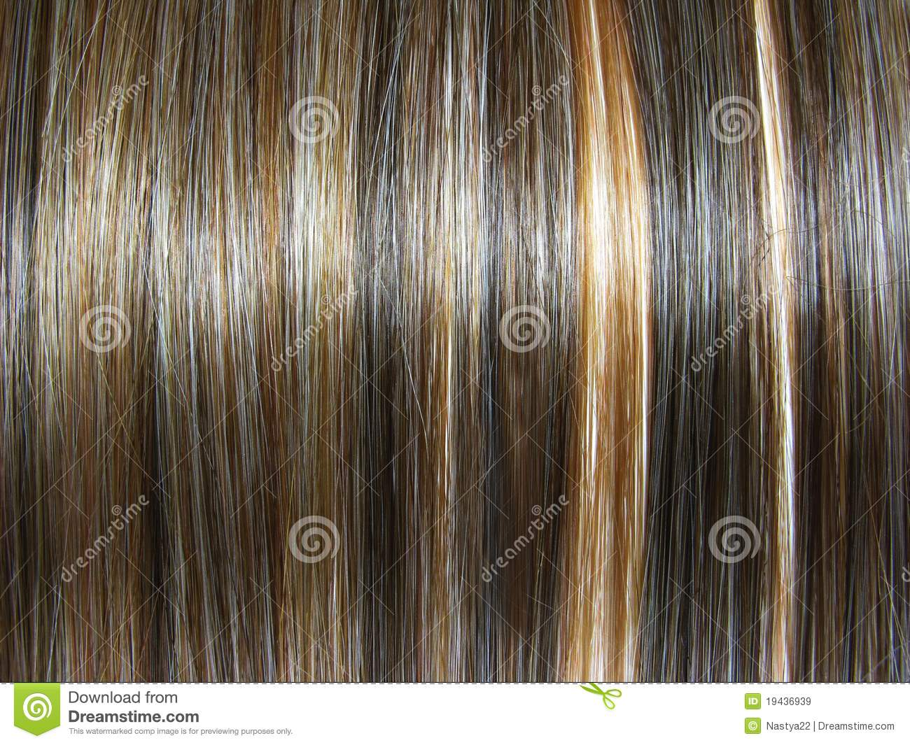 Dark Highlight Hair Texture Background Royalty Free Stock