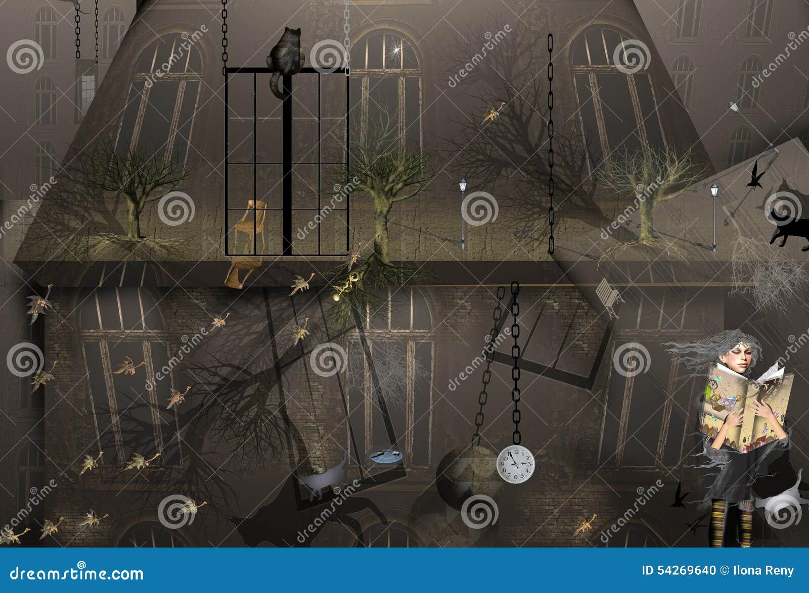 Dark house mystery