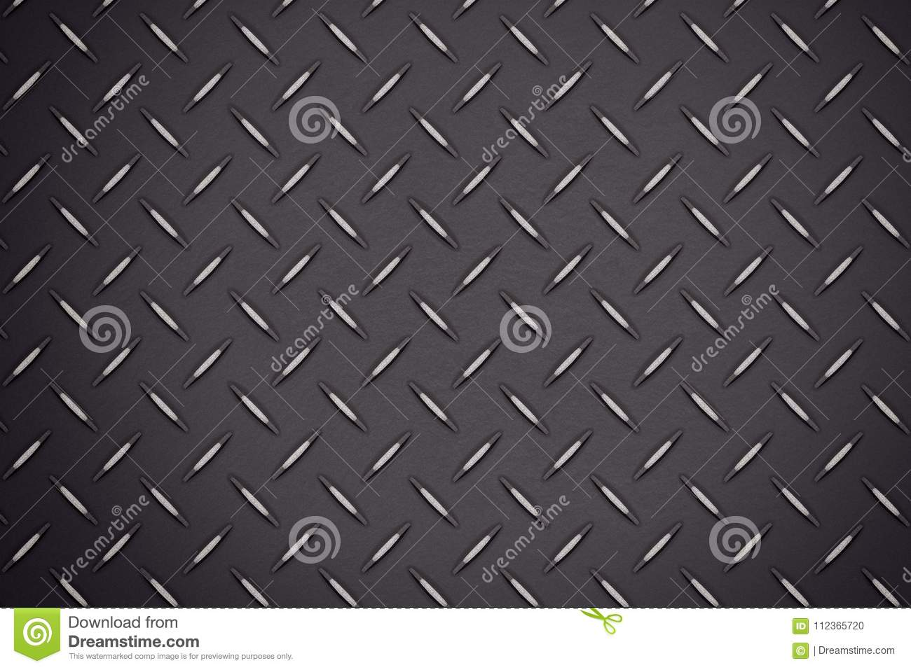 Dark Industrial Wall Diamond Steel Textured Pattern Background B