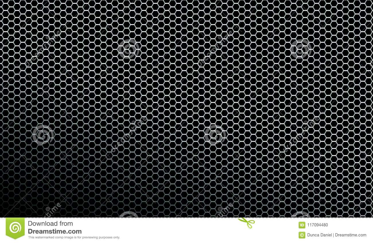 Dark metallic mesh pattern texture background