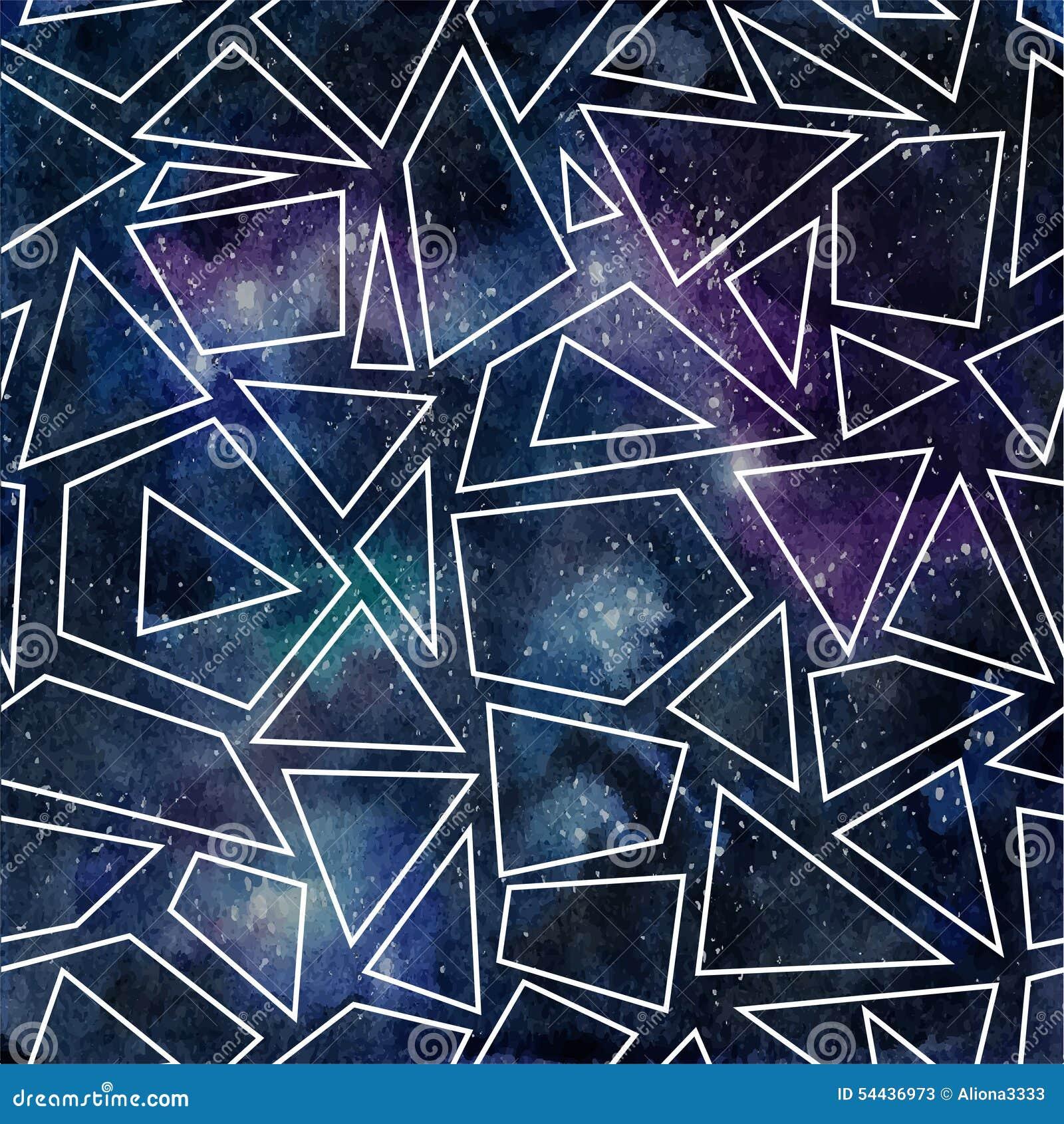 Dark outline cosmic pattern stock illustration image for Cosmic pattern clothing
