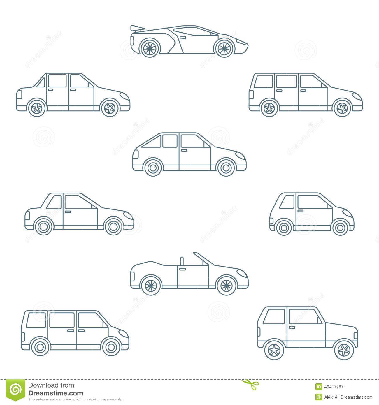 classification essay types of cars