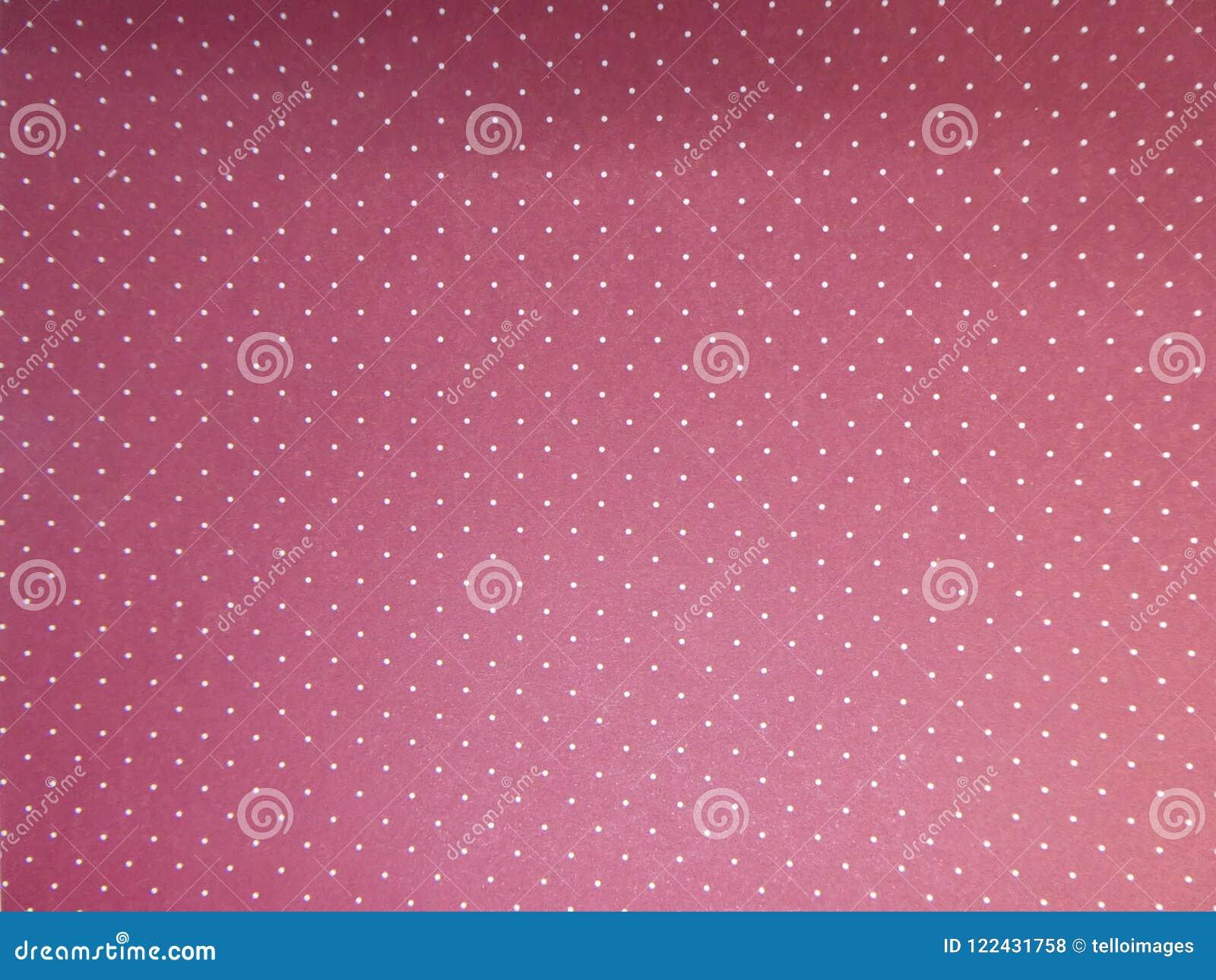 Dark pink with white dots wallpaper background