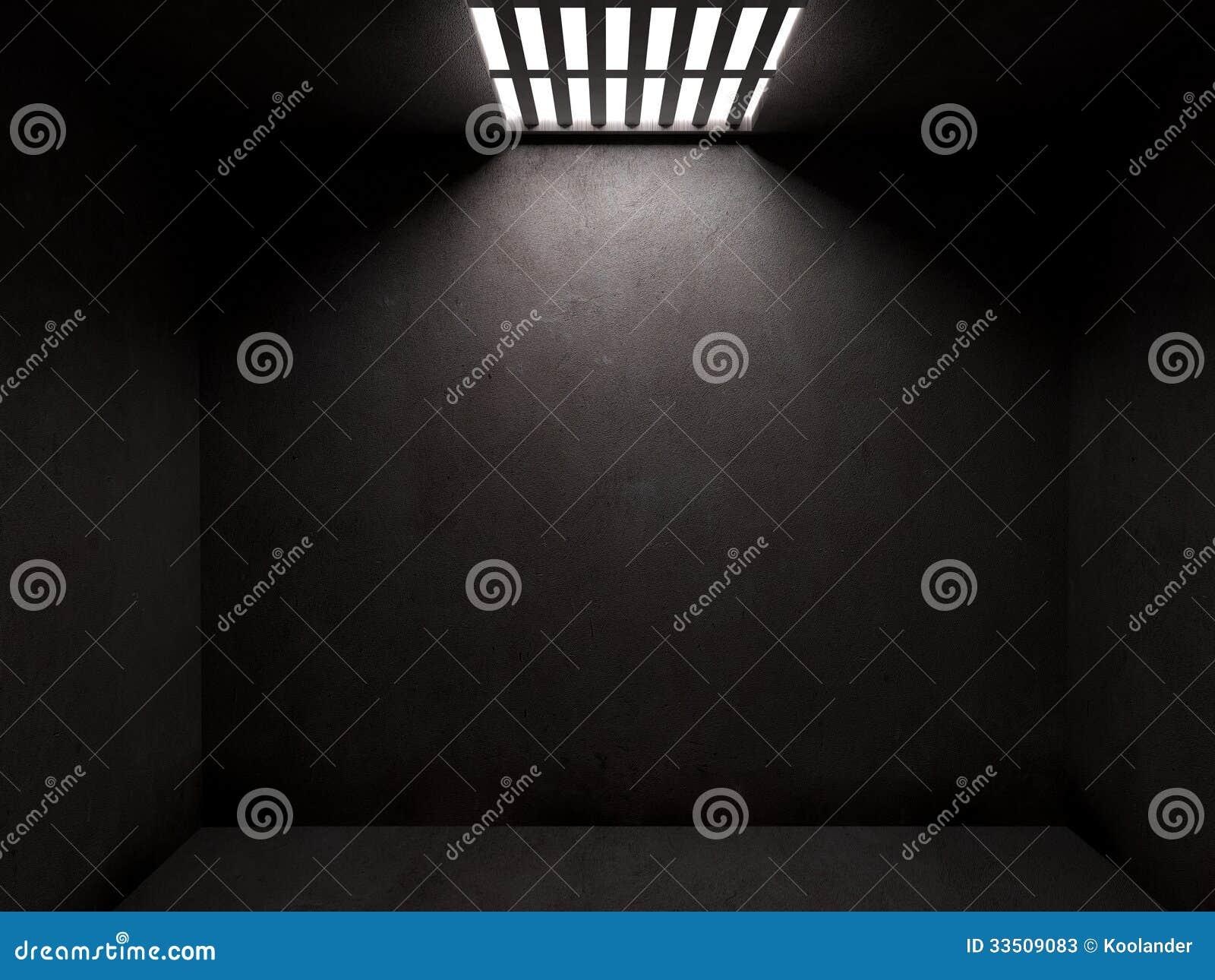 Dark Prison Cell Stock Photos - Image: 33509083
