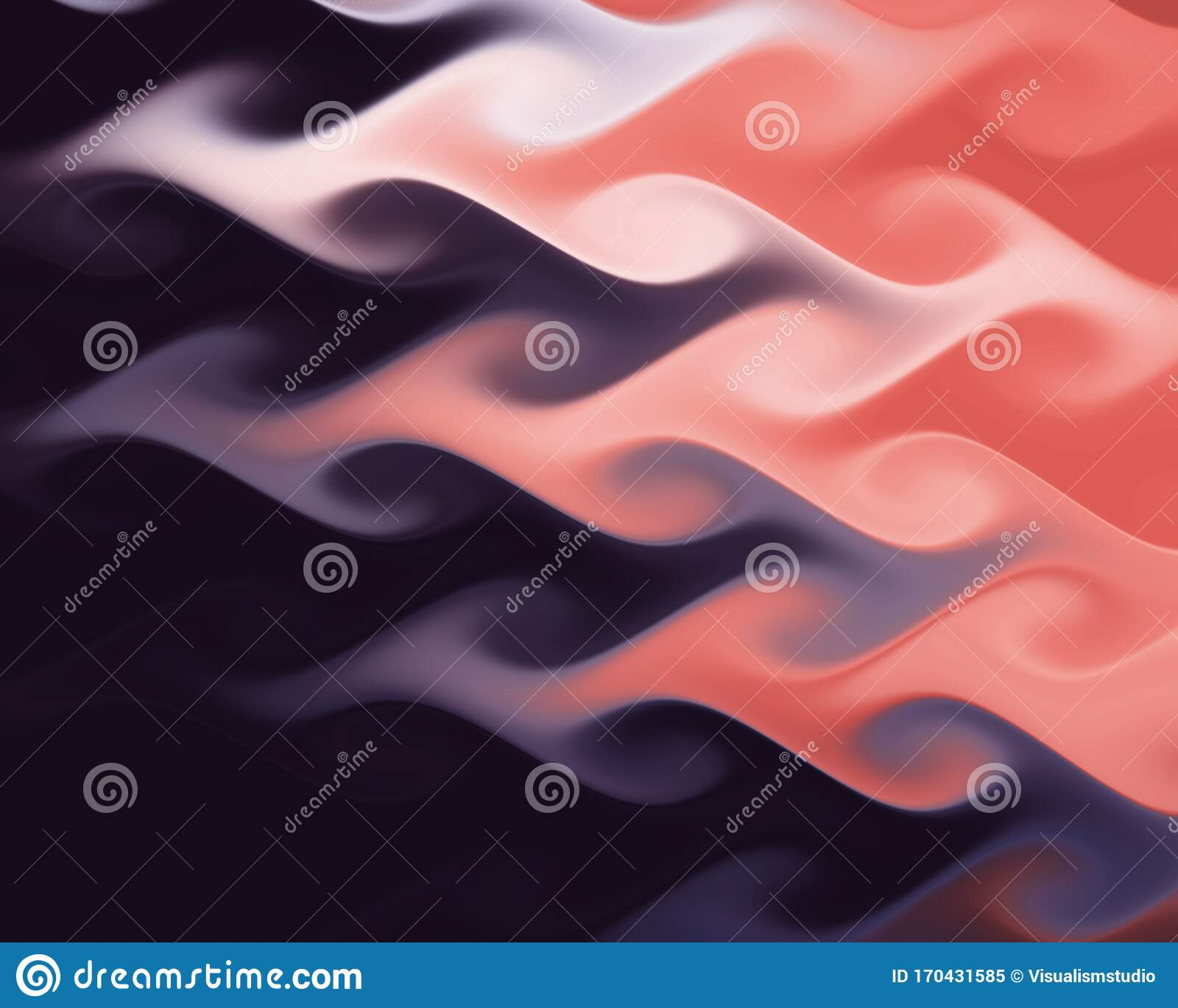 dark red blue abstract flames colorful wave background elegant wallpaper design bright fresh conceptual texture 170431585