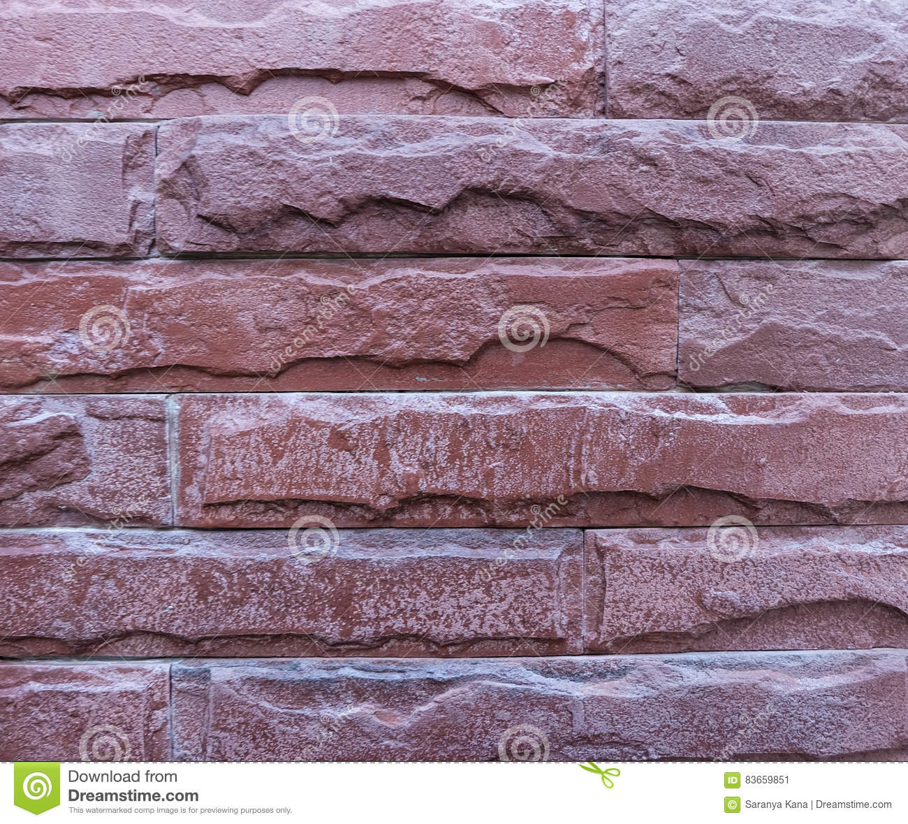Dark Red Brick Texture Or Background Stock Image