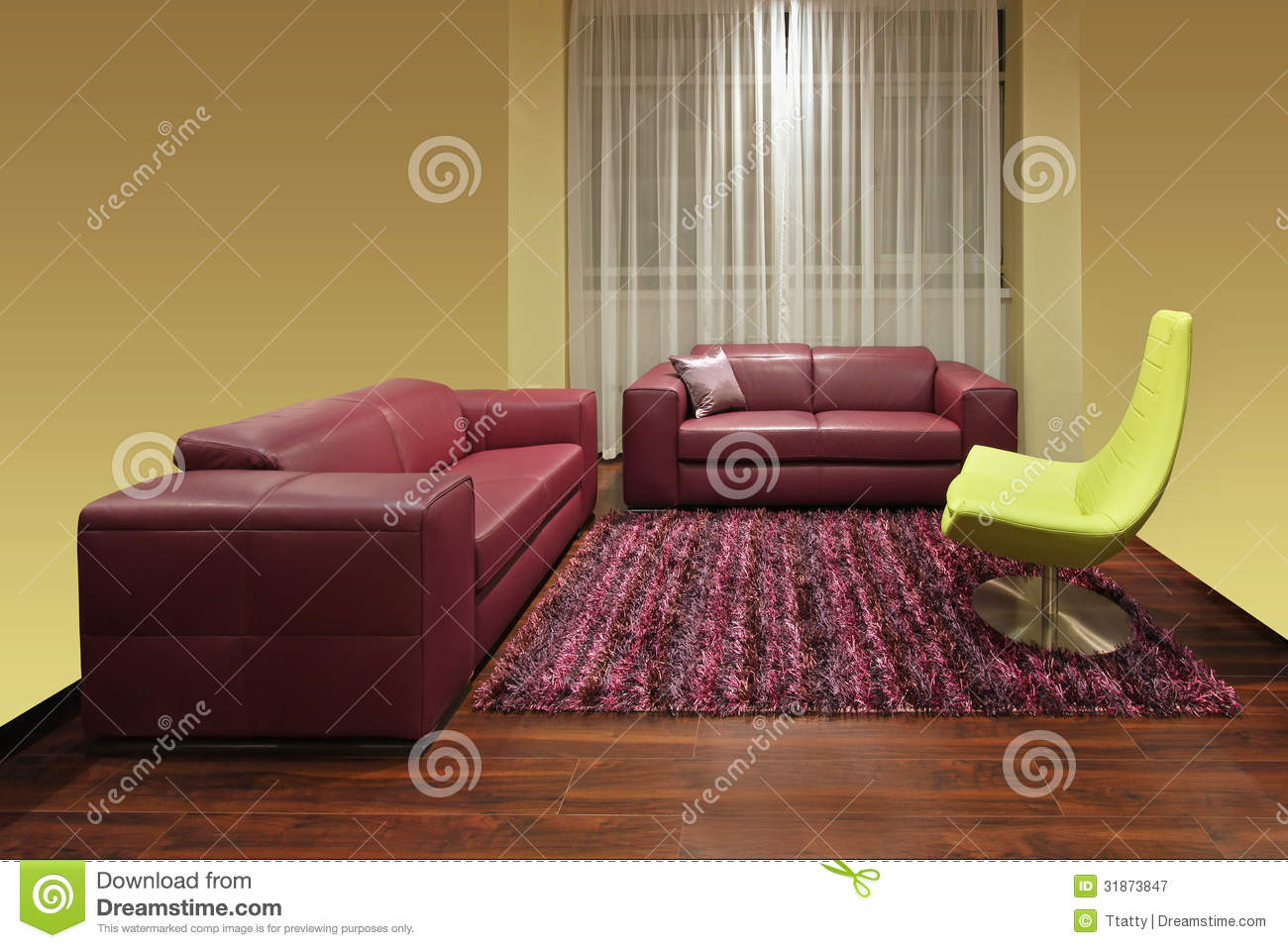 dark red living room stock image image of carpet contemporary