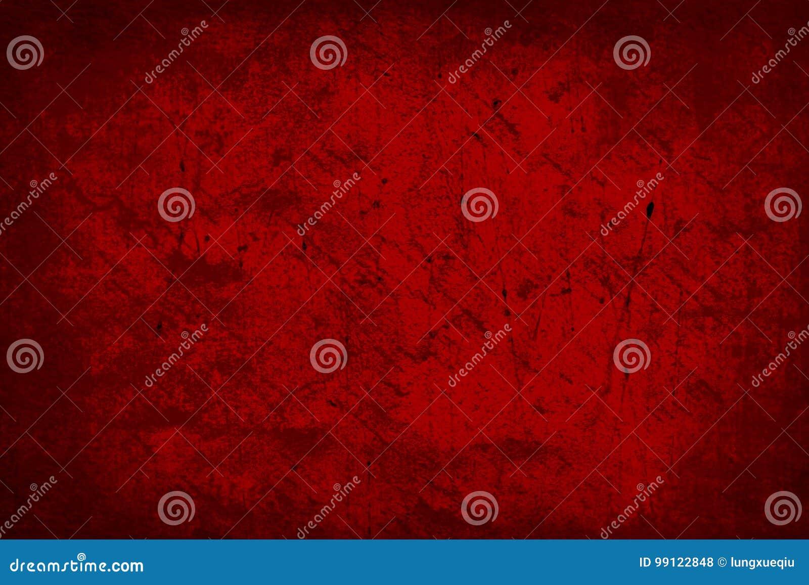 Dark Red Old Grunge Abstract Texture Background Wallpaper