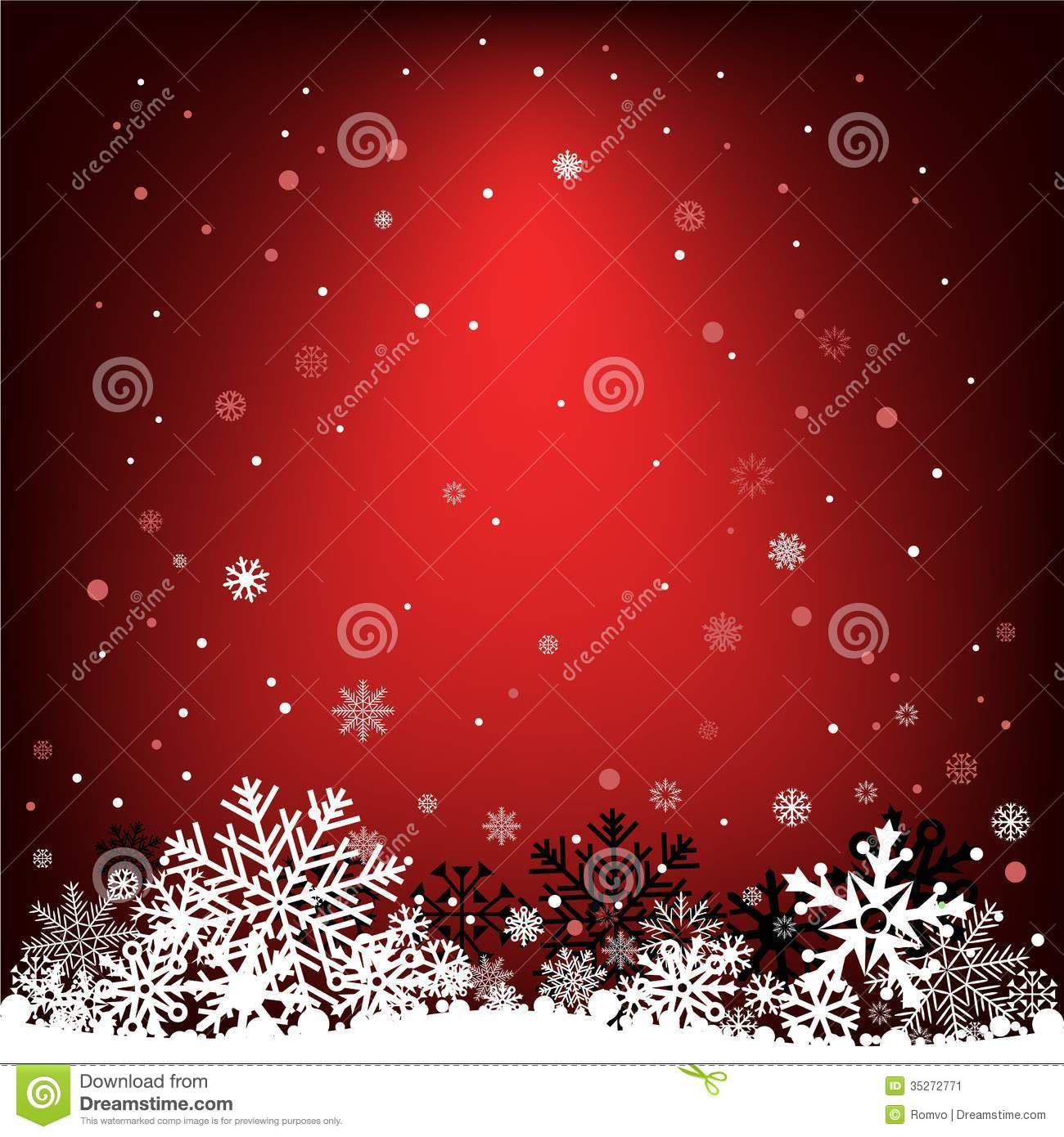 red snow christmas background - photo #38