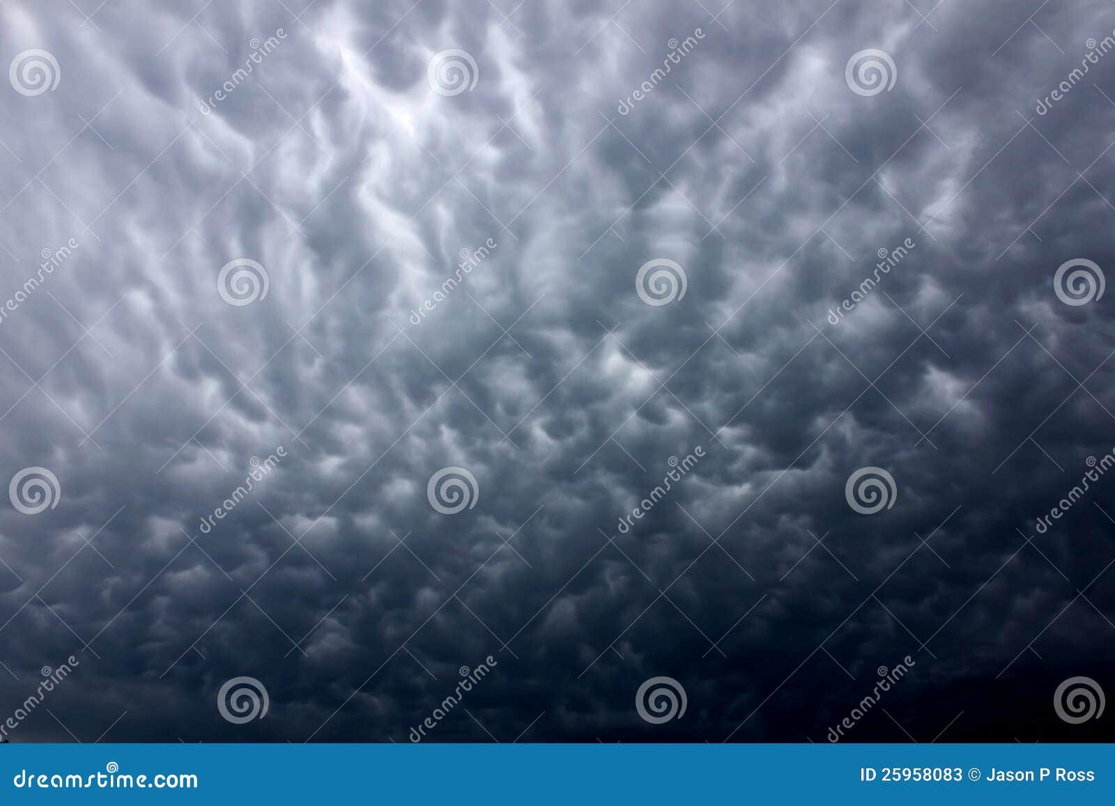 Dark Thunderstorm Clouds