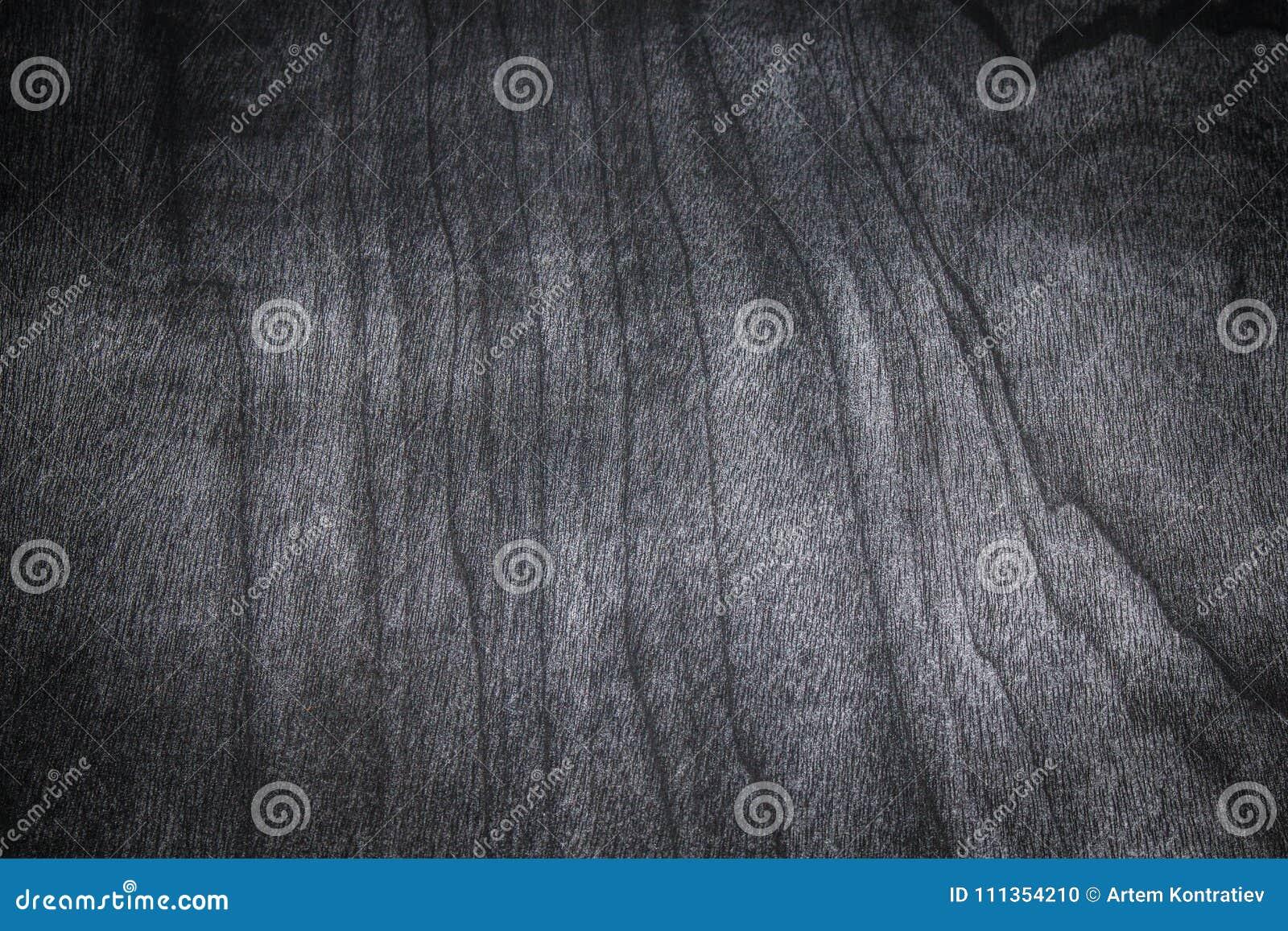 Dark Wood Texture background. Texture of black table desk.