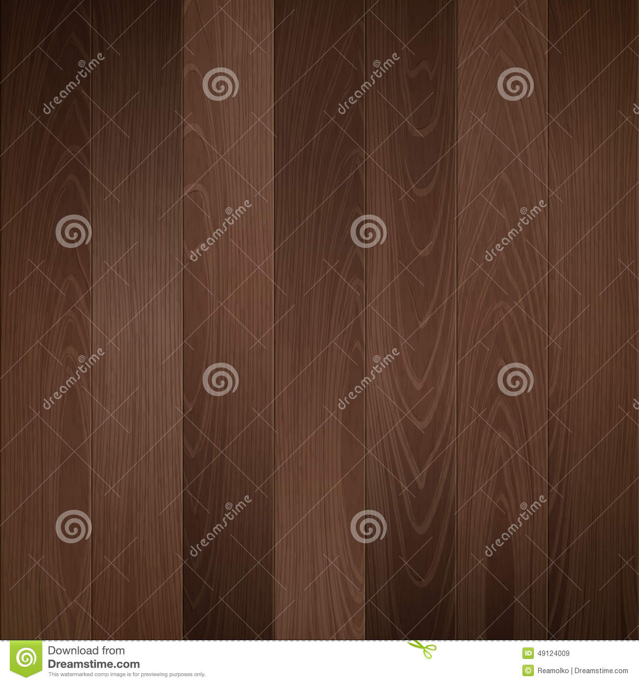 Dark Wood Texture Vector Background. Stock Vector - Image ...
